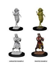 D&D Nolzur's Marvelous Miniatures Unpainted Miniatures Satyr & Dryad Case (6)