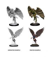 D&D Nolzur's Marvelous Miniatures Unpainted Miniatures Harpy & Arakocra Case (6)