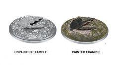 D&D Nolzur's Marvelous Miniatures Unpainted Miniatures Crocodile Case (6)