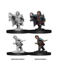 D&D Nolzur's Marvelous Miniatures Unpainted Miniatures Male Halfling Rogue Case (6)