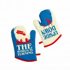 Stranger Things Oven Gloves Upside Down