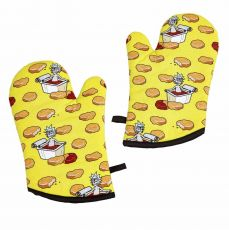 Rick & Morty Oven Gloves Szechuan Sauce