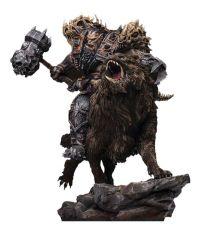 Warcraft: The Beginning Soška 1/9 Blackhand Riding Wolf (Standard Version) 40 cm
