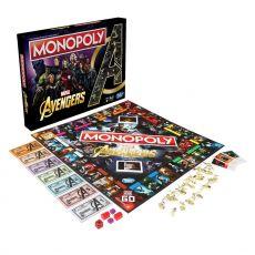 Avengers Board Game Monopoly Anglická Verze
