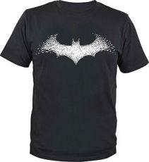 Batman Tričko Batarang Logo Velikost XXL