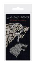 Game of Thrones 3D Metal Keychain Stark Sigil 6 cm