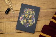 Harry Potter Poznámkový Blok Bradavice Floral