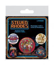 Steven Rhodes Pin Placky 5-Pack Kolekce