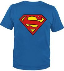 Superman Tričko Classic Logo Velikost XXL