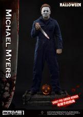 Halloween Soška 1/2 Michael Myers Bonus Verze 107 cm