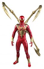 Marvel's Spider-Man Video Game Masterpiece Akční Figure 1/6 Spider-Man (Iron Spider Armor) 30 cm