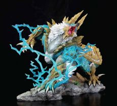 Monster Hunter Zinogre Diorama 1/10 The Thunder Wolf Wyvern 56 cm