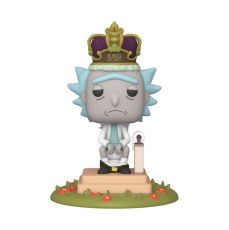 Rick & Morty Electronic POP! Movies Vinyl Figure with Sound Rick on Toilet 9 cm