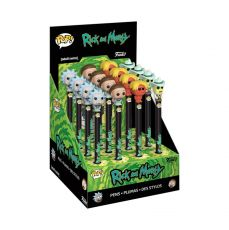 Rick & Morty POP! Homewares Pens with Toppers Display (16)