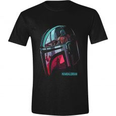 Star Wars The Mandalorian Tričko Reflection Velikost XL