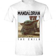 Star Wars The Mandalorian Tričko The Child Photo Velikost S