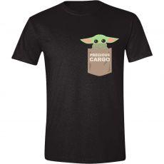 Star Wars The Mandalorian Tričko The Child Pocket Velikost S