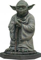 Star Wars Životní Velikost Bronze Soška Yoda 79 cm