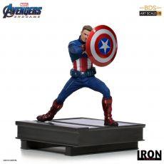 Avengers: Endgame BDS Art Scale Soška 1/10 Captain America 2023 19 cm