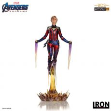 Avengers: Endgame BDS Art Scale Soška 1/10 Captain Marvel 26 cm