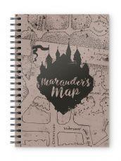 Harry Potter Poznámkový Blok Marauders Map