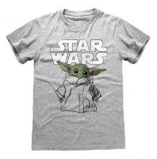 Star Wars The Mandalorian Tričko Child Sketch Velikost XL