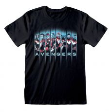 Avengers Endgame Tričko Tonal Heads Velikost L