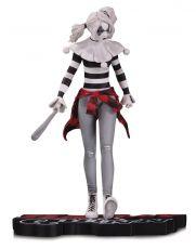 DC Comics Red, White & Black Soška Harley Quinn by Steve Pugh 18 cm