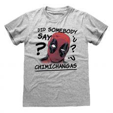 Deadpool Tričko Chimichangas Velikost L