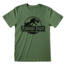 Jurassic Park Tričko Mono Logo Velikost L