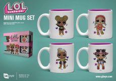 L.O.L. Surprise! Espresso Hrnky 4-Pack Glitter Squad