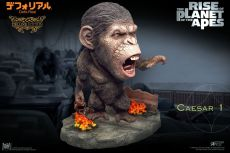 Rise of the Planet of the Apes Deform Real Series Soft vinylová Soška Caesar Chain Ver. Deluxe 15 cm