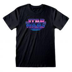 Star Wars Tričko 80's Logo Velikost M