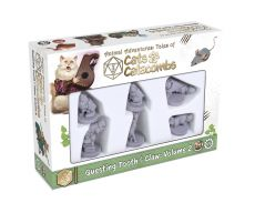 Animal Adventures Cats & Catacombs: Questing Tooth & Claw Miniatures 6-pack Volume 2 Anglická