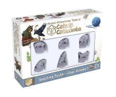 Animal Adventures Cats & Catacombs: Questing Tooth & Claw Miniatures 6-pack Volume 1 Anglická