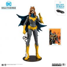 DC Rebirth Build A Akční Figure Batgirl (Art of the Crime) 18 cm