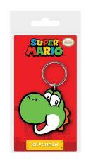 Super Mario Gumový Keychain Yoshi 6 cm