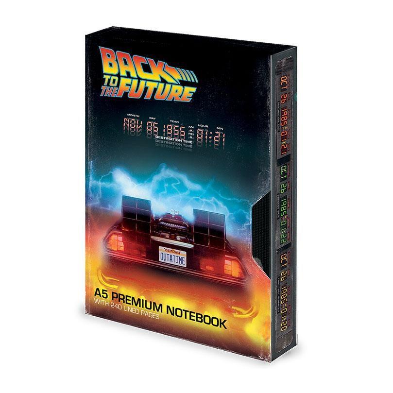 Back to the Future Premium Poznámkový Blok A5 Great Scott VHS Pyramid International