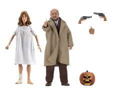 Halloween 2 Retro Akční Figure 2-Pack Doctor Loomis & Laurie Strode 20 cm