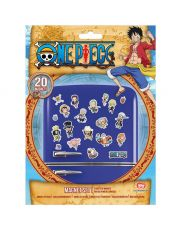 One Piece Fridge Magnets Chibi