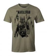 Star Wars The Mandalorian Tričko The Mandalorian Velikost L