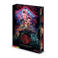Stranger Things Premium Poznámkový Blok A5 Great Scott VHS