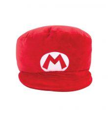 Mario Kart Mocchi-Mocchi Plyšák Figure Mario Hat 18 cm