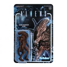 Aliens ReAction Akční Figure Wave 1 Alien Warrior Dusk Brown 10 cm