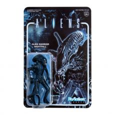 Aliens ReAction Akční Figure Wave 1 Alien Warrior Nightfall Blue 10 cm
