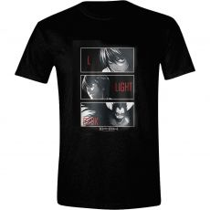 Death Note Tričko L, Light, Ryuk Velikost L