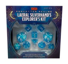 Dungeons & Dragons Forgotten Realms: Laeral Silverhand's Explorer Kit - Dice & Miscellany Anglická