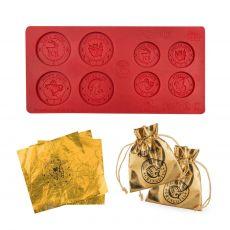 Harry Potter Gringotts Pokladnička Chocolate Coin Mold