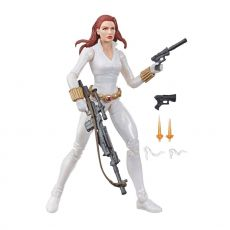 Marvel Legends Series Akční Figure Black Widow White Suit Deadly Origin 15 cm