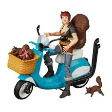 Marvel Legends Series Akční Figure with Vehicle Squirrel Girl 15 cm